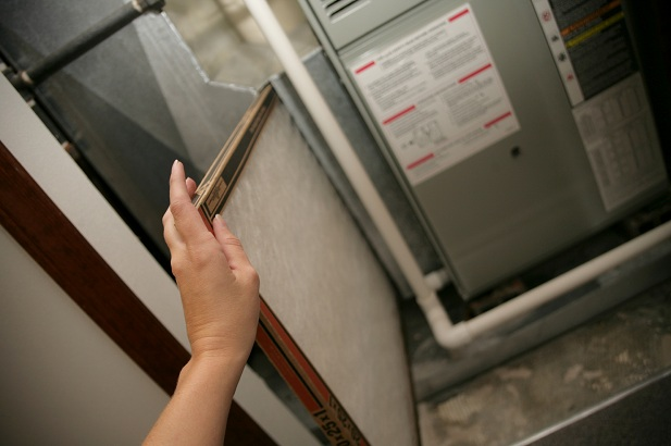 Change your air filter often to promote healthy living
