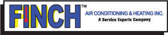 Finch Air Conditioning & Heating Logo